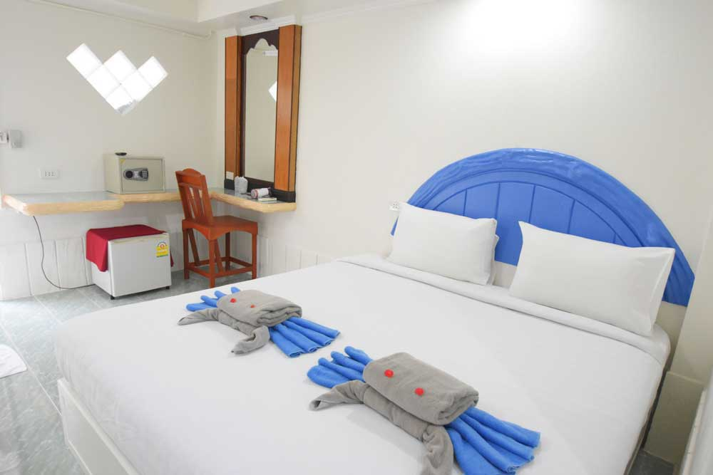 Air conditioned hotel room
